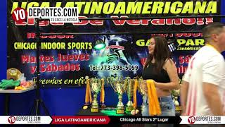 Chicago Flash Campeones Futbol Mixto en la Liga Latinoamericana