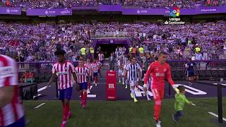 REAL VALLADOLID, 0 - ATLÉTICO DE MADRID, 0 (06-10-2019, JORNADA 8 LALIGA)