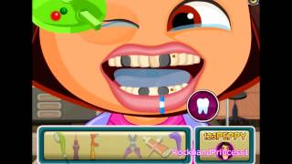 Dora The Explorer Online Games Dora Cavity Dentist Game