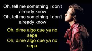 Harry Styles - Ever Since New York (Lyrics) English - Spanish