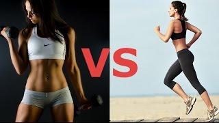 Кардио или силовая тренировка для похудения  Что лучше выбрать