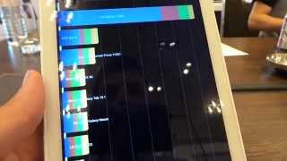 Acer Iconia Tab 8 (A1-840 FHD) Quadrant benchmark video | Tech2.hu