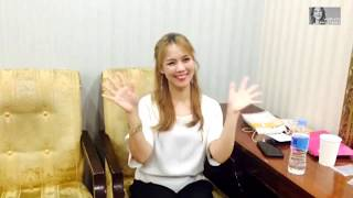 (Eng Sub) SoHyang(소향) saying hello to her fans!! (2017.08.25)