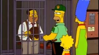 Otis, el borrachín de la ciudad   Los Simpsons