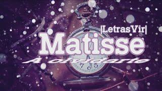 A olvidarte - Matisse  Letra  HD