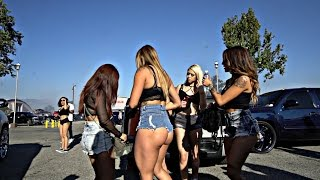 Women Love Trucks and Burnouts! - California Truck Invasion 2017