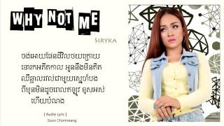 Khmer why not me