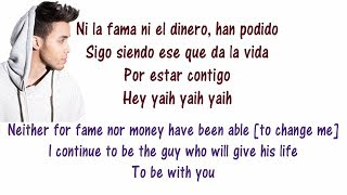 Prince Royce - Soy el Mismo Lyrics English and Spanish - Translation & Meaning - Letras en ingles