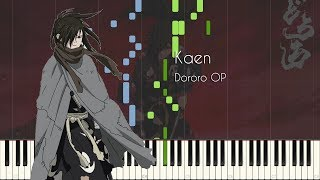 [Transcription] Kaen - Dororo OP - Piano Arrangement [Reiva Piano]