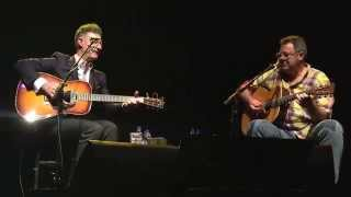 Pantry- Lyle Lovett and Vince Gill acoustic set In Glendale, PA