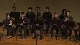 CU Clarinet Ensemble - เพลงพระราชนิพนธ์มาร์ชราชนาวิกโยธิน (Royal Marines March)