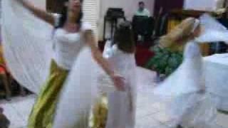 Minha benção( coreografia Anjos de Cristo)