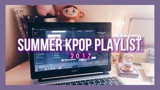 summer kpop playlist 2017