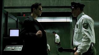 The Matrix - Lobby Scene HD (The Prodigy Voodoo People Pendulum Remix)