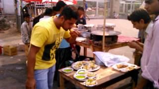 2min 50 Golgappa eating Challenge