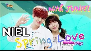 [Comeback Stage] NIEL (feat.JUNIEL) - Spring Love, 니엘 (feat. 주니엘) - 심쿵, Show Music core 20150418