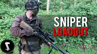 The BEST Airsoft Sniper Loadout 2017