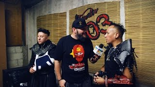 Hocico - I will be murdered (backstage clip ) @ Studio 803, Puebla, 2016