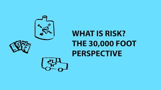 What is Risk?  A 30,000 foot perspective width=
