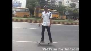 Skateboarding in Odisha/India- Road surfing (I)