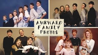 Recreating Awkward Family Photos (ft. My Family)
