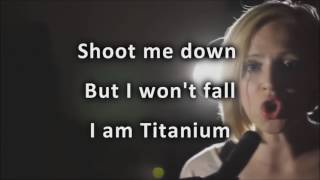 "Madilyn Bailey ""Titanium""  Karaoke (No Vocal, Playback) David Guetta - ft Sia"