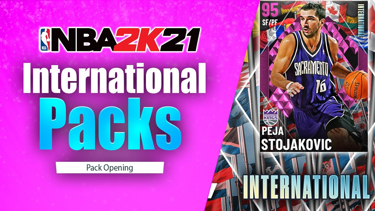 Bud22089 - Diamonds Everywhere Pack Opening! International MyTeam Packs! NBA 2K21