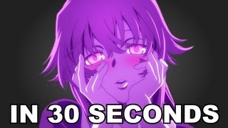 Mirai Nikki, In 30 Seconds