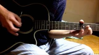 Naruto Shippuuden OP 4 - Closer guitar cover (overdub)