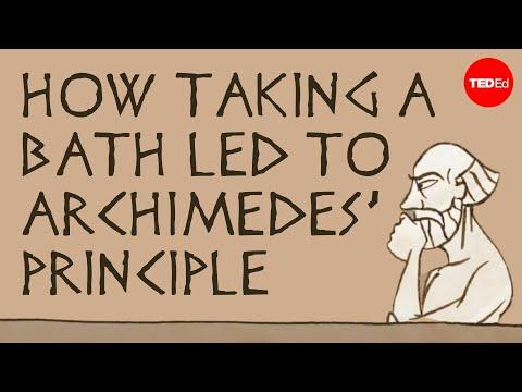 如何從洗澡發現阿基米德原理——馬克·薩拉塔 - YouTube