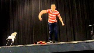 Phillip Doran performs Son of Man (Tarzan)