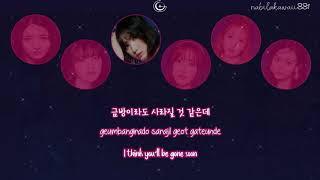 [Karaoke] GFRIEND (여자친구) - 밤 (Time for the moon night) | Han/Rom/Eng Lyrics