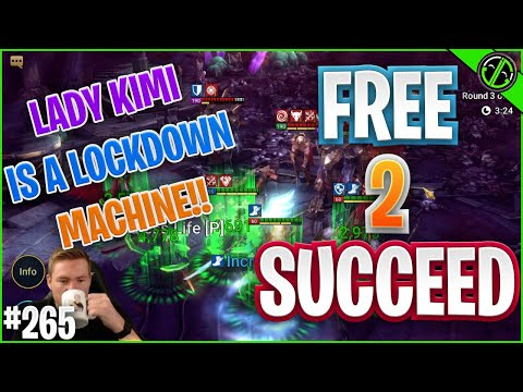 COMPLETE & TOTAL LOCKDOWN W/ Lady Kimi!! Build & DT Testing | Free 2 Succeed - EPISODE 265