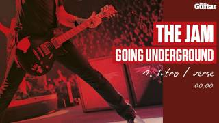 Guitar Lesson: The Jam 'Going Underground' -- Part One -- Intro/Verse (TG217)