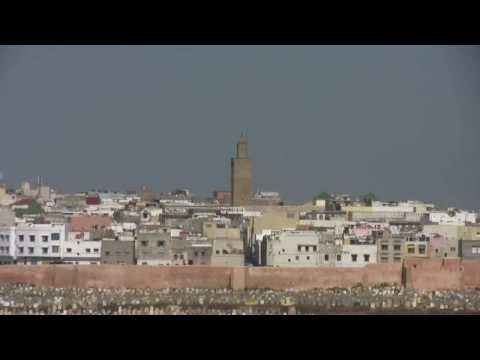 View from the Kasbah of the Udayas, Rabat, Morocco