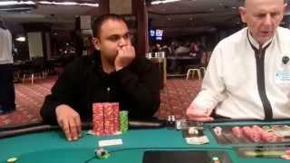 AMAZING Poker Hand 2-5NL at FOXWOODS CASINO!!!