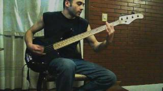 Municipal Waste - Wolves of Chernobyl Bass Cover