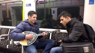 """Still Dre Instrumental"" cover with Greek Bouzouki on London Underground"
