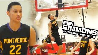 Ben Simmons FIRST Scrimmage at Montverde Highlights! [Home Team Vault]