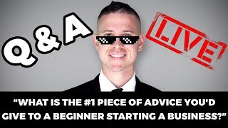 How to Start a Business as a Beginner | Ask Kevin David #1 (Thanksgiving Edition!)
