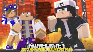 LEOS HAUNTING PAST! Minecraft Royal Family | w/LittleKellyandCarly & Raven (Custom Roleplay)