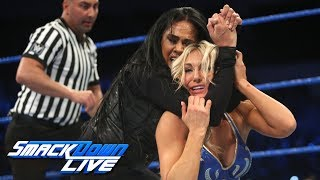 Charlotte Flair vs. Tamina: SmackDown LIVE, Dec. 5, 2017