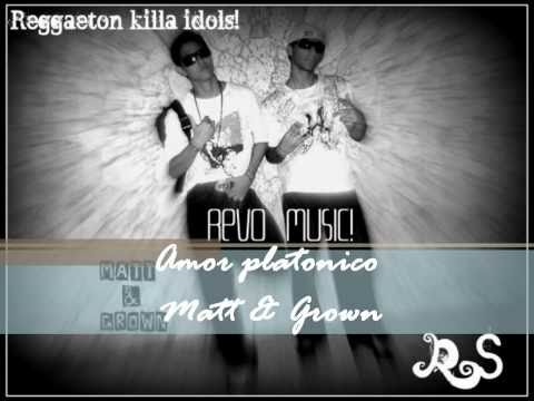 Amor Platonico de Matt Grown Letra y Video