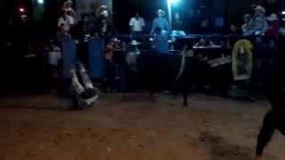 TORNEO DE GANADERIAS SAN JUAN ACATITLAN FERIA 2015 TORO ABISMO NEGRO r: EL AUSENTE(1)