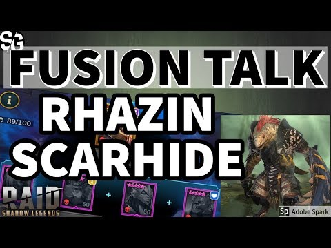[RAID SHADOW LEGENDS] RHAZIN FUSION TALK