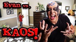 Skylanders' KAOS Scares Evan from EvanTubeHD! Halloween SPECIAL!