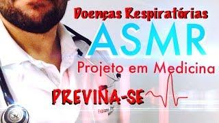 ASMR Brasil (em português) - Frio e doenças respiratórias - Como se Prevenir?