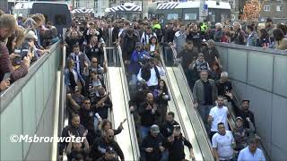 PAOK Saloniki Fans On The Way To The Arena Ajax - PAOK Saloniki  (voorronde Champions League)