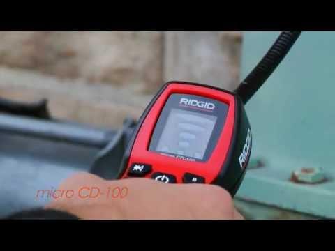 RIDGID CD-100 Gaz Kaçak Dedektörü.wmv