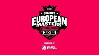 EU Masters Summer Season 2018 - Semifinals